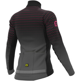 Alé Cycling PR-S Bullet Micro Maillot À Manches Longues Femme, black/fluo pink